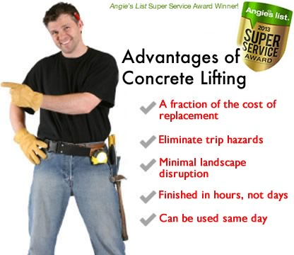 concrete lifting leveling guy